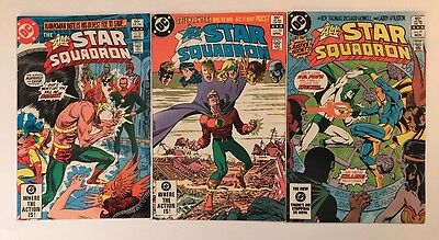 Lot Of D.C. Comics The All Star Squadron