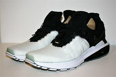 2c9fd1c5022 AUTHENTIC NIKE SHOX Gravity Black Ice White NZ AR1999 101 Running Shoe Men  size