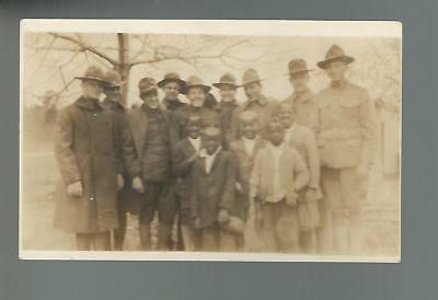 Usmc United States Marines U.s. Army Soldiers With Young Black Children