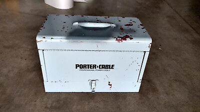 ROCKWELL PORTER CABLE ROUTER MODEL 100-M 100-B Metal Case / Box Only ~ USA