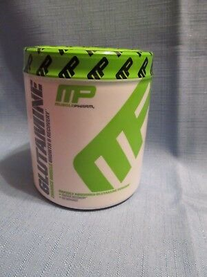 Musclepharm Glutamine Powder Muscle Growth & Recovery 60 Servings Exp 2/2020