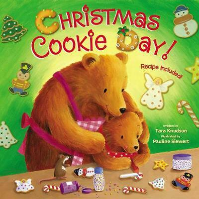 Christmas Cookie Day! by Tara Knudson Board Books Book Free Shipping!