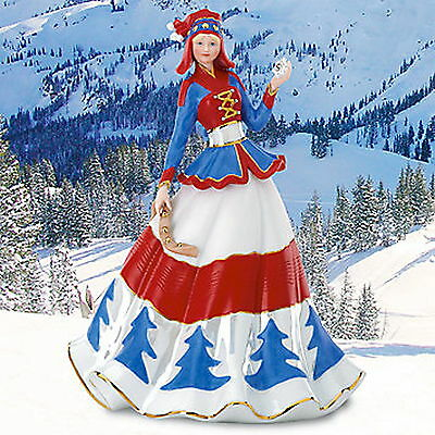Lenox Hannah Lapland Snow Princess Figurine LMT EDITION Retail $195 New Box