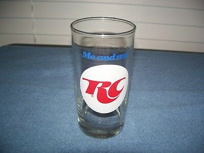 Me & My RC - Royal Crown Cola Advertising Glass 5 1/2""