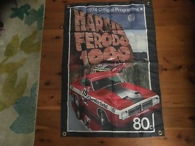 Bathurst Brock 3x2 foot Man cave pool room flags wall hangings GMH FORD