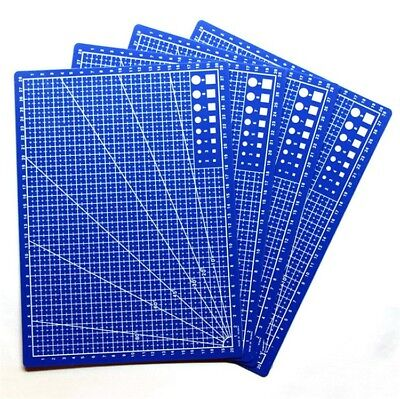 1pc A4 Cutting Mat Self Healing Non Slip Craft Quilting Printed Grid Lines Board