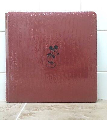 Creative Memories 12x12 Red Disney Mickey Mouse Scrapbook Album 2006 Sealed NIP