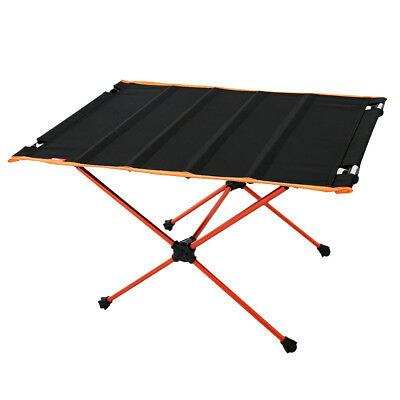 Folding Camping Table Roll up for Outdoor Picnic, BBQ, Beach, Hiking, Travel