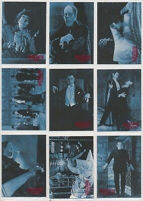 1996 Kitchen Sink Universal Monsters of the Silver Screen 90 Card Set