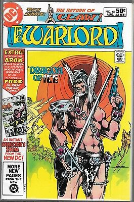 Warlord #48 (Vf) 1St Appearance Of Arak, Bronze Age Dc, Mike Grell