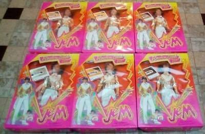 Jem and the Holograms Doll Rio Rock'n Gold x6 Hasbro Vintage New in Box