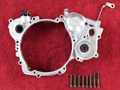 INNER CLUTCH COVER w/POWER VALVE ARM 98-04 YZ125 YZ 125 <> RIGHT SIDE ENGINE