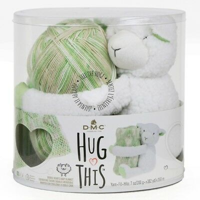 NEW DMC Hug This Lamb Yarn Kit By Spotlight