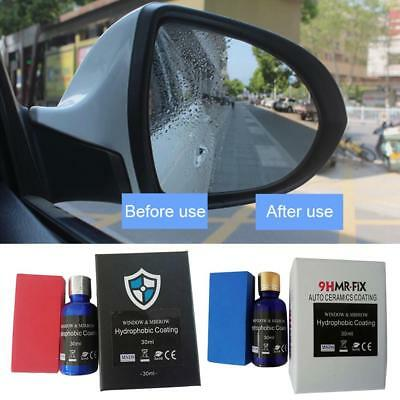 9H Nano Ceramic Auto Car Glass Coating Liquid Hydrophobic Anti Scratch Car Care