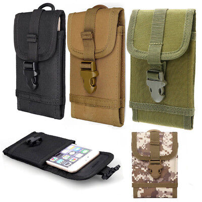 """2018 Tactical Military Molle Cell Phone Pouch Case Belt Bag For Smartphone 5.5"""""""