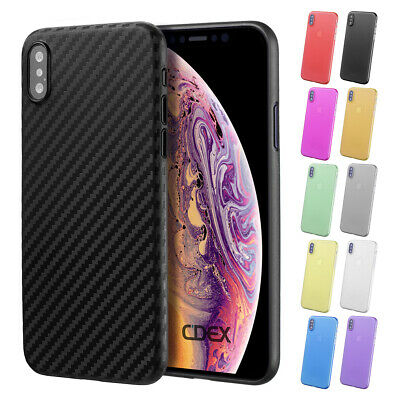"Ultra Slim Case Iphone XS 5.8 "" Matte Clear Cases Cover Skin Pouch Film"