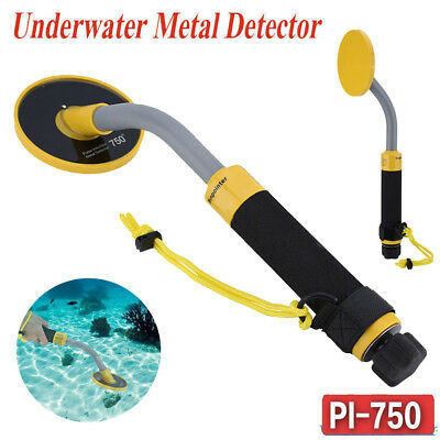 PI750 30M Underwater Pulse Induction Metal Detector Pinpointer Gold Hunter Tool