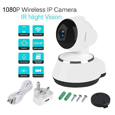 Wireless WiFi HD 1080P IP Camera Home Security Network CCTV Night Vision System