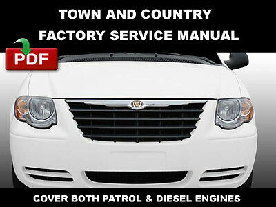 2006 chrysler town and country service manual pdf
