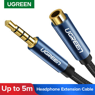 Ugreen 3.5mm Stereo Audio Extension Cable Auxiliary Adapter for iPhone Headphone
