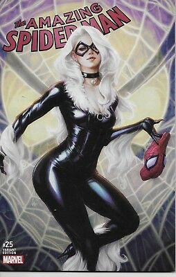 The Amazing Spider-Man #25 Artgerm Variant Cover
