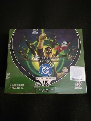 VS system Green Lantern Corps sealed Booster Box