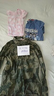 Girls clothes 12-13 years