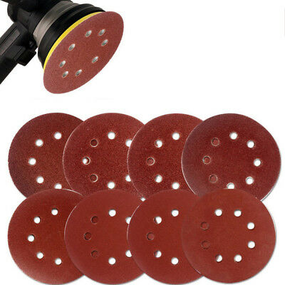 20x 5 Inch Sanding Discs 40-2000 Grit Round Sandpaper Pads Hook and Loop Lot