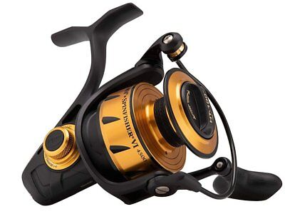 Penn Spinfisher VI Spinning 2500-10500 IPX5 Full Metal Body Carrete NEW 2019