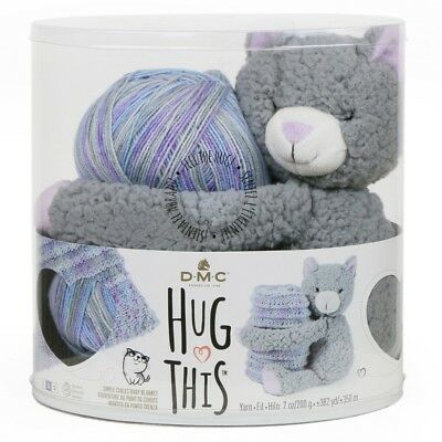 NEW DMC Hug This Kitten Yarn Kit By Spotlight