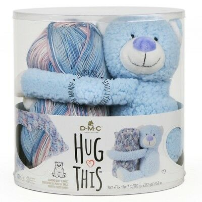 NEW DMC Hug This Teddy Yarn Kit By Spotlight