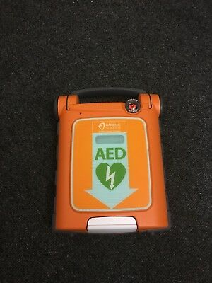 Cardiac Cardiac Science Powerheart G5 incl adult electrode pads CPRD and battery
