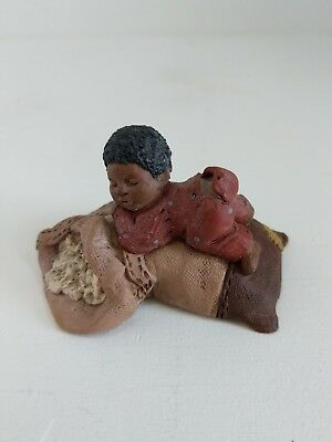 """God Is Love Figurine """"BOONE"""" By M. Holcombe- #45"""