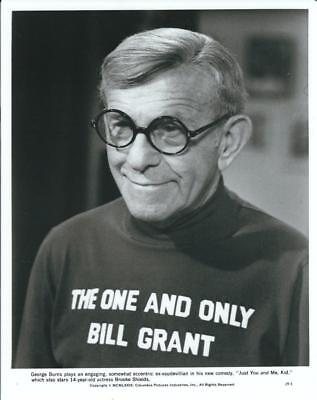 George Burns, Just You and Me, Kid 1979 Vintage Still 8 x 10 Columbia Pictures