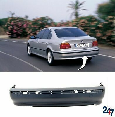 New Bmw 5 Series E39 1995-2000 Saloon Rear Bumper Without Pdc Holes 8159367