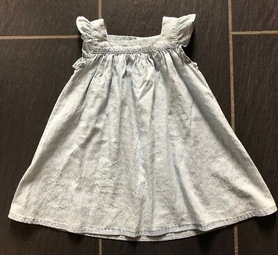 Next girls Light Blue dress 12-18 months