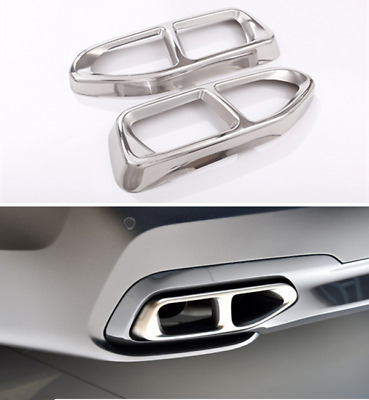 Car Accessories M Style Exhaust Muffler Cover Trim For BMW 7 740i 750i G11 G1