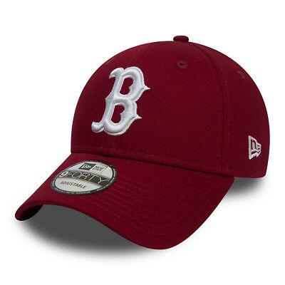 New Era Mens Boston Red Sox Baseball Cap.9Forty Mlb League Essential Hat 8W2 83