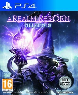 Final Fantasy XIV Online: A Realm Reborn (PS4 Game) *VERY GOOD CONDITION*