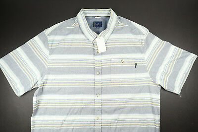 Stripe Blue Pura Button White Sleeve Short O'neill Down Vida Jack 1RqP7q