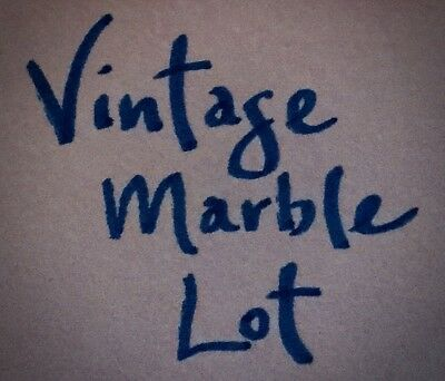 *Vintage Marble Lot of 10 - From Grandfather's Collection* Read Item Description