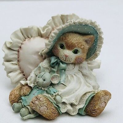 Calico Kittens Figurine A Warm Hug With My Friend You Make It Better Lot 2 (B)