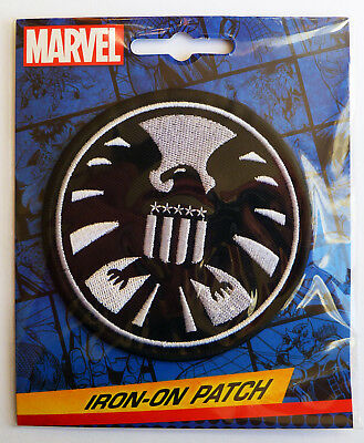 Marvel Agents of S.H.I.E.L.D. Logo Iron-On Patch - SHIELD - NEW