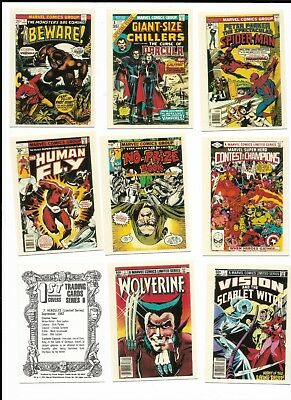 1991 Marvel 1st Issues Covers II   Complete Card Set  1-100