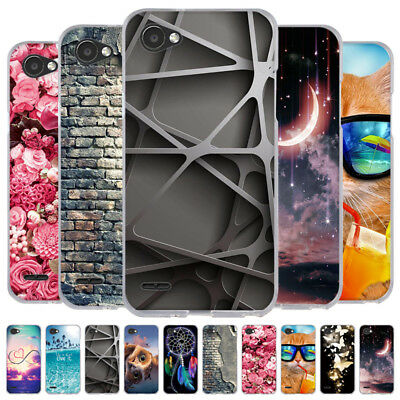 TPU Case For LG G7 ThinQ/V40 ThinQ/LG Q Stylo 4 Ultra Thin Rubber Silicon Cover