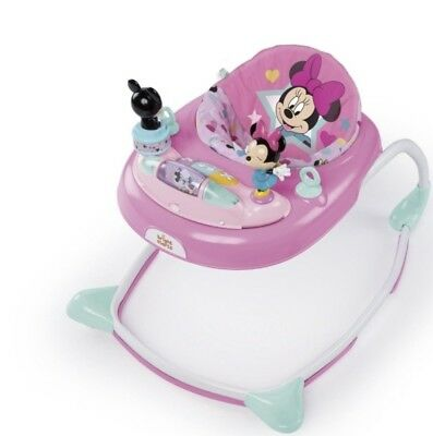 Disney Minnie Mouse Stars & Smiles Walker Activity Baby