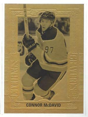 18-19 Tim Hortons Gold Etchings CONNOR McDAVID GE-10    FREE SHIPPING