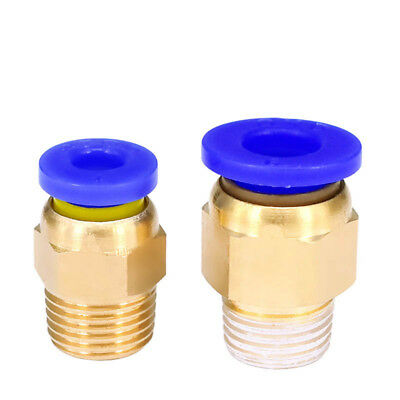 5Pcs PC4-01 Pneumatic Connector 4mm Tube Hose Push Fitting For 1.75/3mm Filament