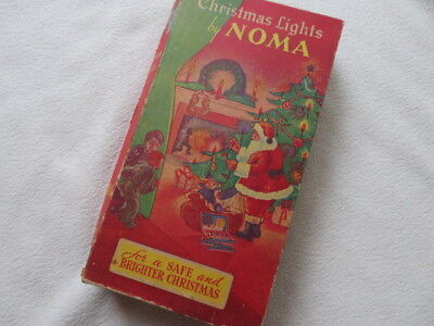 Vintage NOMA Berry Beads No. 110 String Lights With Original Box - WORKS!!!