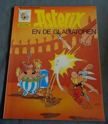 ASTERIX nr. 9 En de gladiatoren 1994 9789067930215 stripboek stripalbum strip